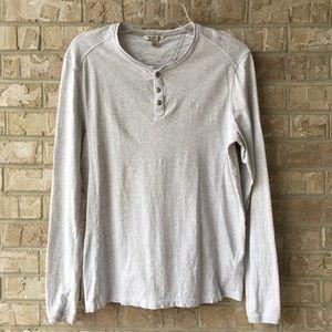Calvin Klein Jeans Henley Shirt Size S